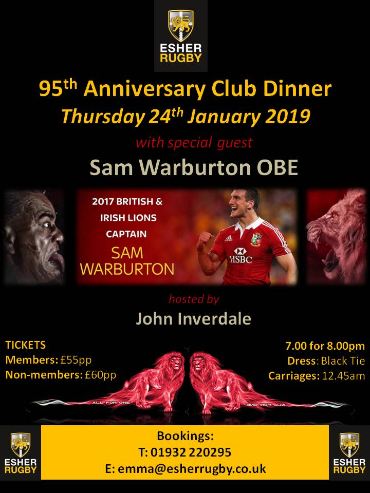 95th Anniversary Club Dinner