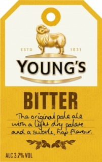 Youngs Bitter £10 per 4 Pint Jug whilst stocks last