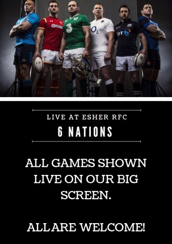 6 Nations LIVE on the BIG SCREEN