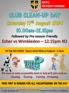 Club Clean-up Day a great success