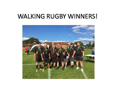 Festival Success for Esher Walking Rugby