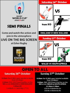 RWC 2019 Semi-final Weekend