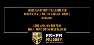 Join in the fun with the Esher Minis! All new players aged 3-10 welcome. Sundays from 9.30 a.m.
