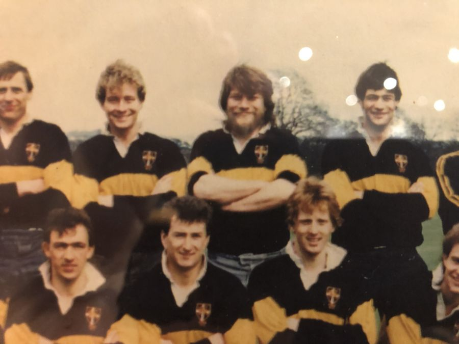 Esher Rugby says farewell to Paul Robinson