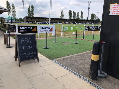 Esher Rugby Quarantine Takeaway CafeBar closed until further notice