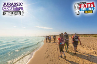 Matt Wright takes on the Jurassic Coast Challenge to raise funds for Cancer Research UK