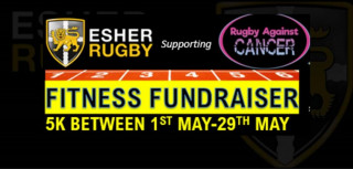Esher Rugby Get Fit .. Feel Good .. Fitness Fundraiser supporting 'Rugby Against Cancer'