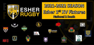 Esher 1st XV Fixtures Released 2021-2022 Season